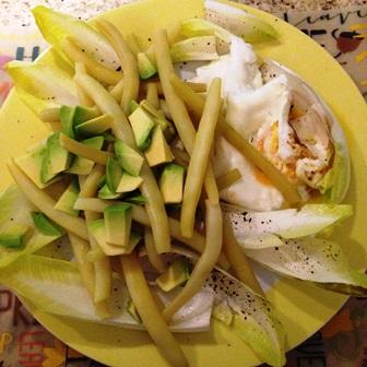 Fasolka szparagowa z jajkiem